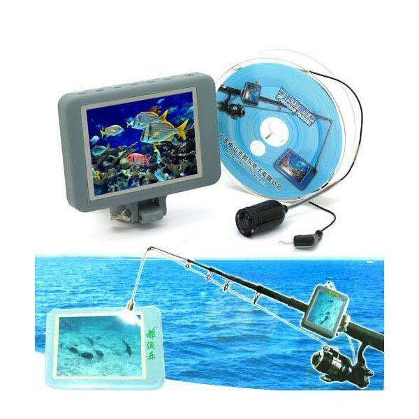 Visual Fish Finder Multicolor HD Fishing Device Underwater Camera #fishfinder #underwatercamera #fishinggear #HDfishing