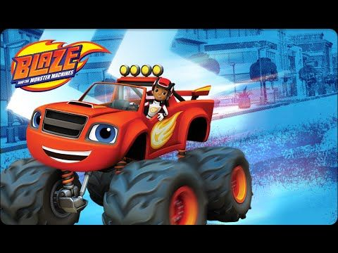 Blaze and The Monster Machines Nickelodeon - Best Episodes Compilation 2...