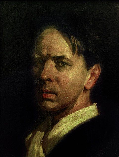 Sierk Schröder / Сирк Схродер (1903-2002) Голландия. Автопортрет. 1936