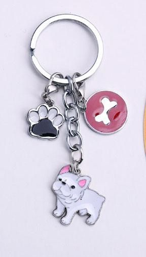 PET Key Chain welsh Corgi Dog Figure Dogs Key Ring charm Wholesale Lovely  Keychain Car Keyring gift Women Jewelry Drop shipping d4aaff0e2