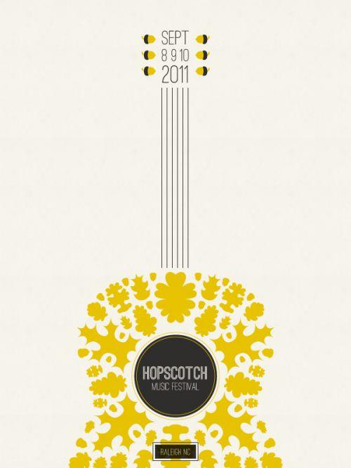 POSTERscotch poster design by Jaime Van Wart #graphicDesign #musicPoster #festivalPoster