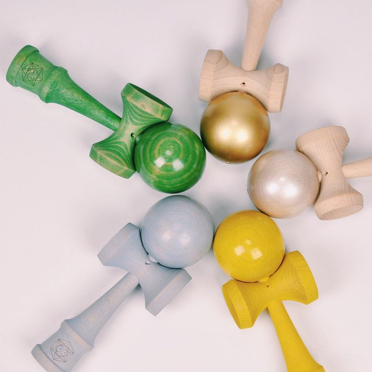 Green Tea, Gold, Pearl, Lemon and Earl Grey by Dogtown Kendama  #kendama