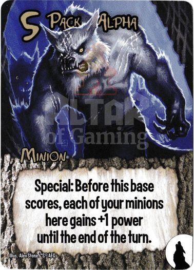 Pack Alpha - Werewolves - Smash Up Card | Altar of Gaming