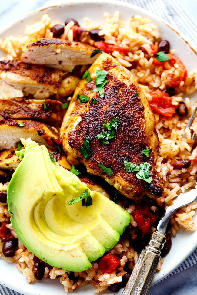 An amazing one pan meal with tender and juicy cajun blackened chicken over delicious southwest rice! This meal became an instant favorite at our house! You guys would not believe how many dirty dishes I accumulate after a day of cooking. Honestly it is shocking. My kitchen looks like a tornado went through it and …