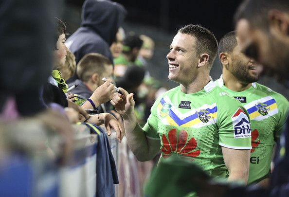 2013 Round 26 Canberra Raiders V Sharks: Sam Williams after his final Raiders game.