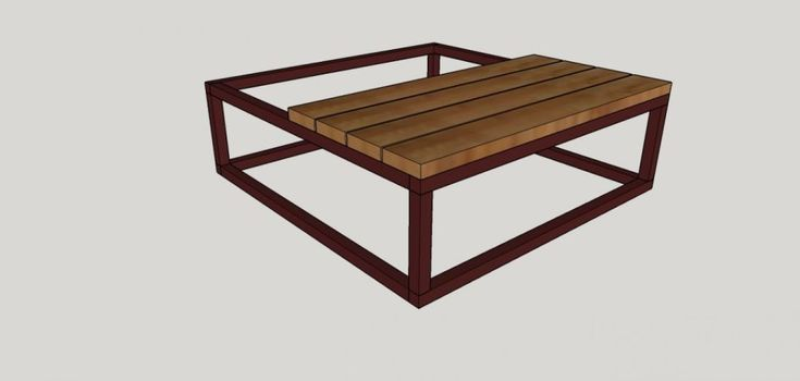 Diy brickmakers coffee table coffee table restoration
