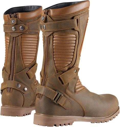 Icon 1000 Prep Boot - Brown | Products | Ride Icon