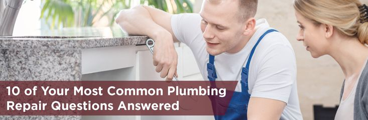 Having plumbing issues? We have the top plumbing repair questions and solutions for common plumbing emergencies and minor and major plumbing problems.