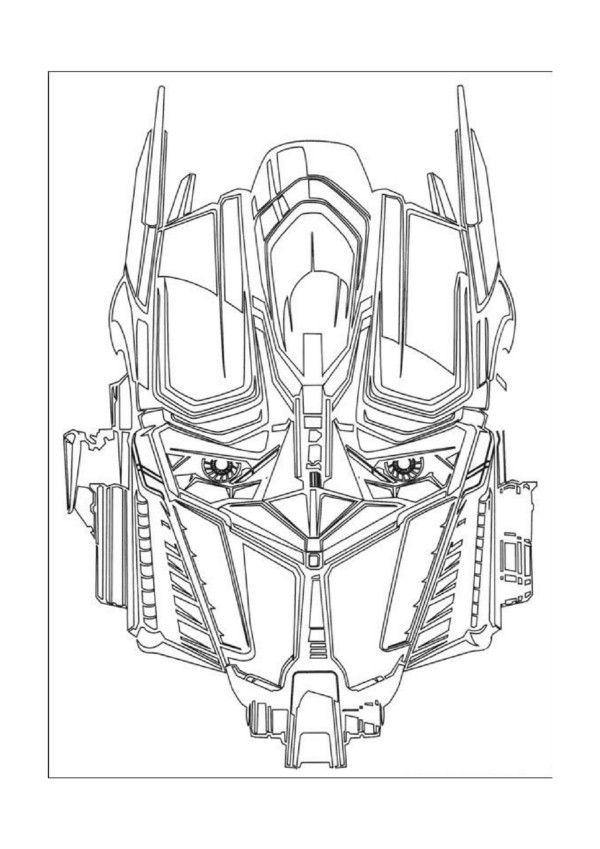 Transformers Tegninger til Farvelægning. Printbare Farvelægning for børn. Tegninger til udskriv og farve nº 5