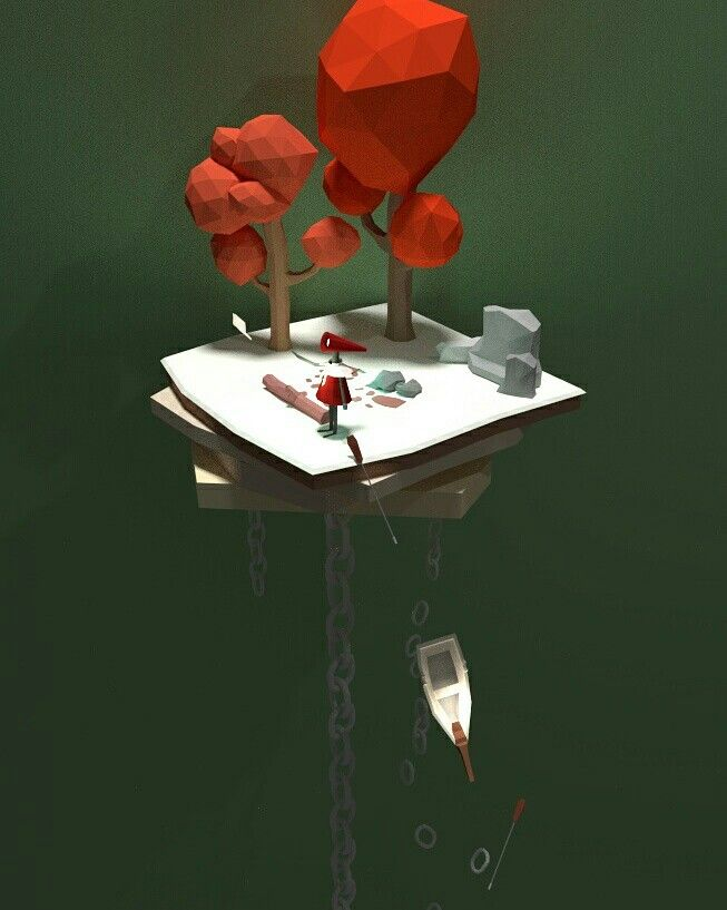 Lowpoly 3D Blender - Wish