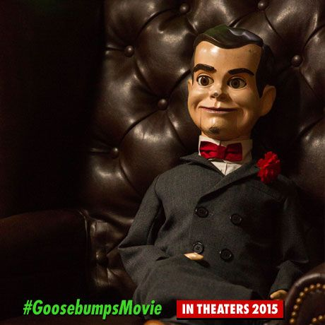 Goosebumps movie announced in 2014 for 2015 release