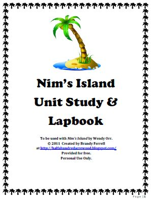 nims island coloring pages - photo#33
