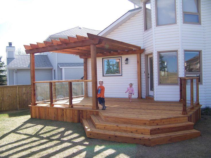 Cedar deck