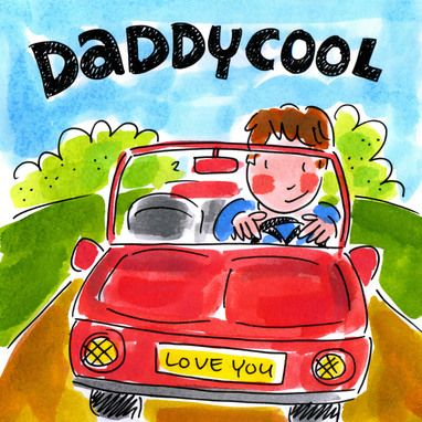 Daddy Cool (Vader rijdt in rode cabrio) - Blond Amsterdam