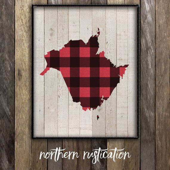 """This listing, New Brunswick in Plaid, is a perfect print for any proud New Brunswicker, whether theyre still living in the province or they want to remember the province that raised them. ↟↟ Details ↟↟ ⇢ I love working with custom orders – message me if theres something youve been dreaming up or if you would like a print customized! ⇢ I offer 3 different print sizes – 5x7"""", 8x10"""" and 11x14"""" ⇢ All prints are printed on acid-free 100lb cardstock ⇢ Due to variations between printers and…"""