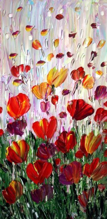 TULIPS Flowers Garden Seria - By Luiza VIZOLI