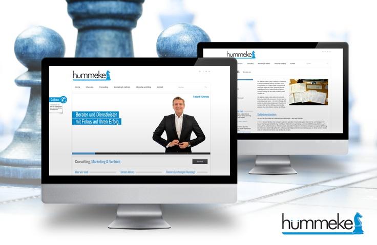 Webseite für Consulting Unternehmen in Wordpress