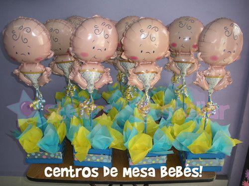 Paquetes De Centros De Mesa   Centros De Mesa Para Baby Shower... Los