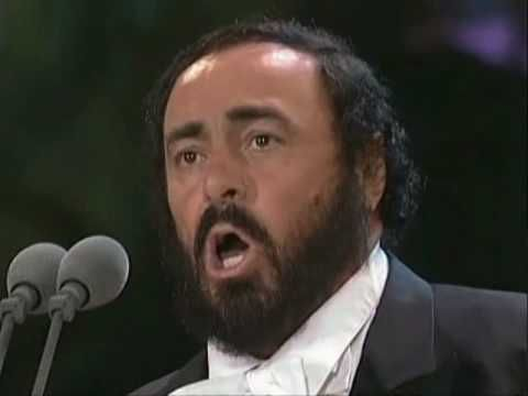 """Luciano Pavarotti - """"Nessun Dorma"""" (Kalaf's Final Act From Turandot By Giacomo Puccini)."""