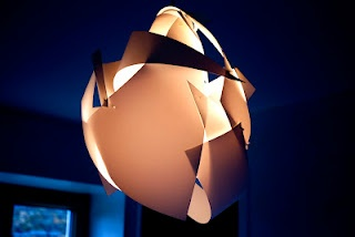 Make your own modern lamp.