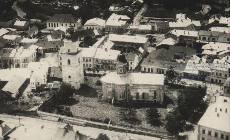 Suceava. Plasa Bosancea. Oraşul Suceava. Vedere parțială