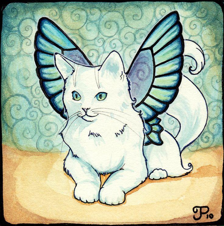 Fairy Cat Number 5 by starwoodarts on DeviantArt