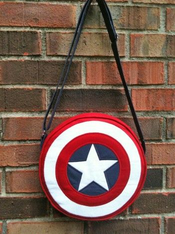 captain america purse