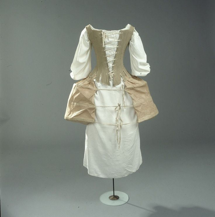 marie antoinette panniers and stays | ... , pair of boned stays, and panniers. | 1770's fashion/ Marie A