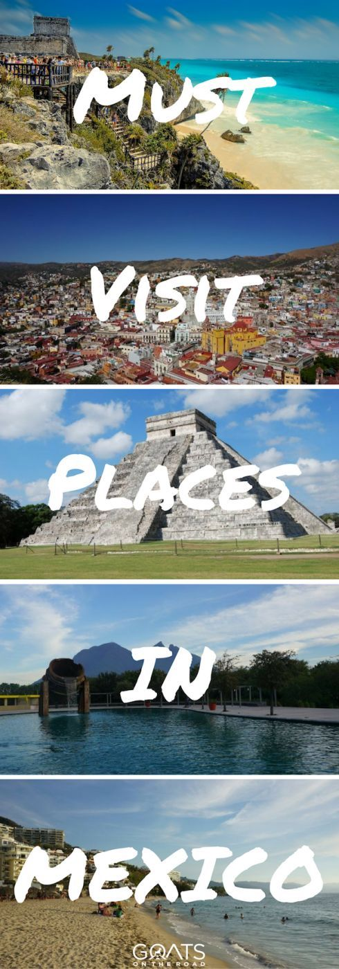 From the best cities to the best beaches, click through to find out the best places to visit in Mexico | Mexico Bucketlist | Where To Go In Mexico | #mexicotravel #bestofmexico #mayanruins #mexico #vivamexico #bucketlist #centralamerica #backpacking #adventuretravel