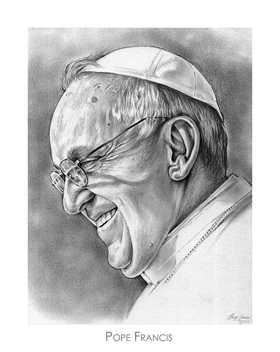 Pope Francis http://fineartamerica.com/featured/pope-francis-greg-joens.html