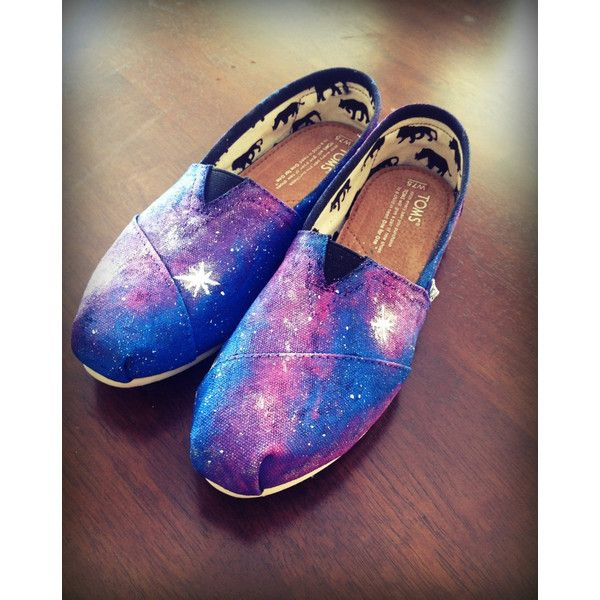 GALAXY Toms - Women's, Men's & Youth sizes ($85) ❤ liked on Polyvore