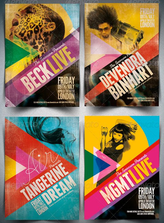 23 eye-catching flyer templates