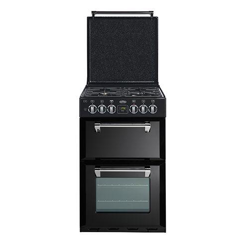 Mini Richmond 54 dual fuel range cooker - Black #Belling #UKmade #madeinBritian #British #cooker