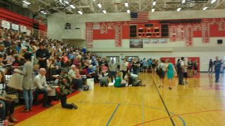 Barers of Maple Valley: Democrats Pack The House At Mount Si High School