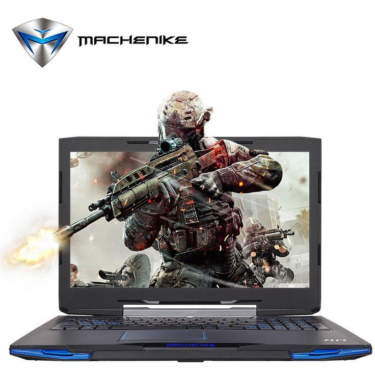 Machenike F117-F1k Intel Core i7-7700HQ Laptop 15.6'' Gaming Notebook GTX1050Ti GDDR5 4G SSD 240G RAM 8G DDR4 2400 1080P Type C