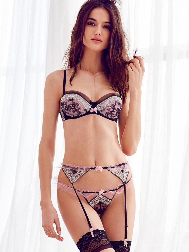 tulle lace thong panty dream angels luxe victoria 39 s secret clothes pinterest models. Black Bedroom Furniture Sets. Home Design Ideas