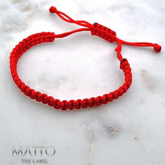 MATTO THE LABEL | | Simple | Elegant | Divine | | Follow us on Facebook & Instagram |  Red Bracelet simple and classy