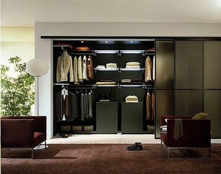 modernos modelos de walk in closets para tu dormitorio