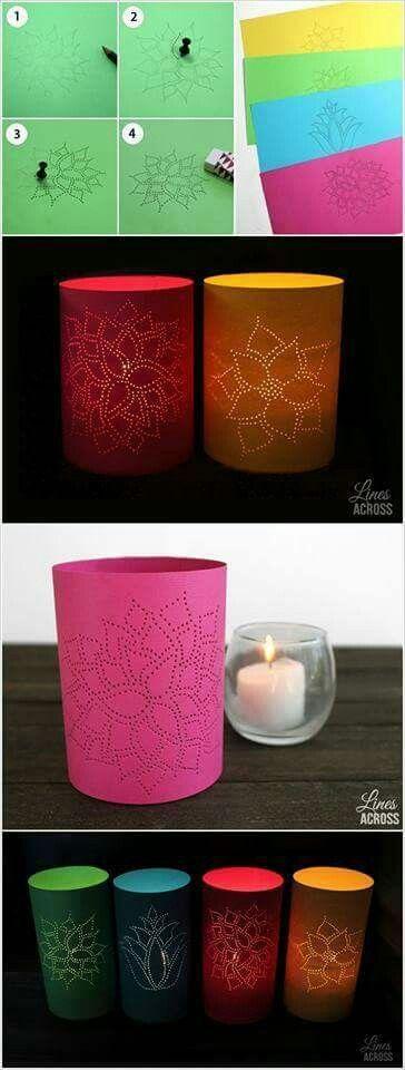 Selfmade Lampe