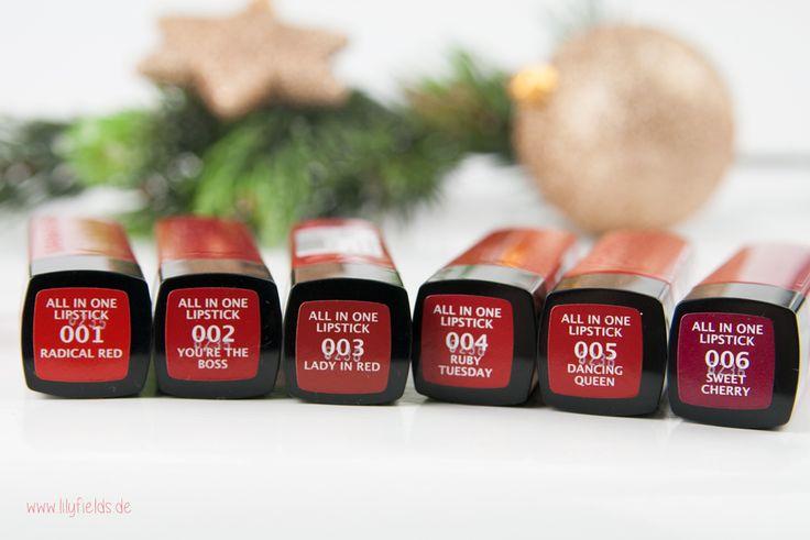 Manhattan - GLAM RED - Christmas Edition Lippenstifte
