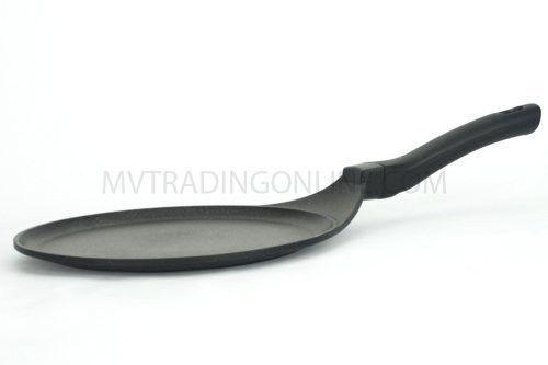 Ceramic Marble Coated Cast Aluminium Non Stick Crepe Pan (8 Inch (20 Cm))