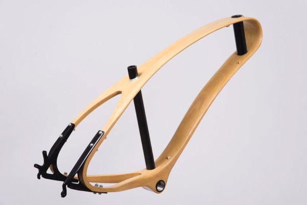 Jan Workshop -Wooden Bike - Continuous Beam Frame