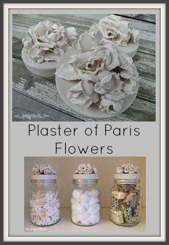 Create faux porcelain flowers with this easy techn…
