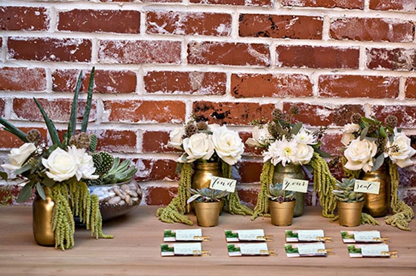 Gold Color Palette, Gold Wedding, Gold Wedding Decor, Wedding Trends 2013