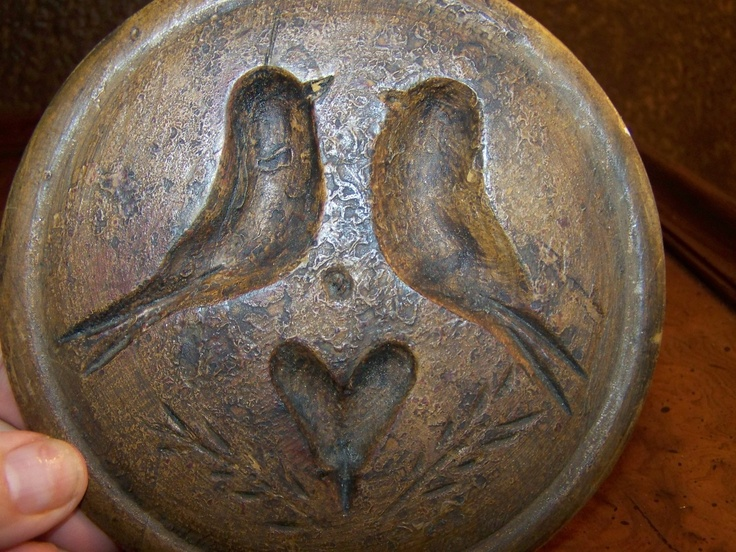 EARLY TO MID 1800'S VERY DESIRABLE PENNSYLVANIA DUTCH BUTTER MOLD | eBay