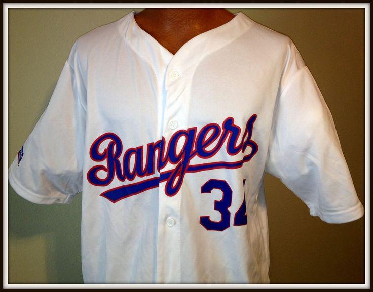 NOLAN RYAN MATCH UP PROMOTIONS DR PEPPER TRUE VALUE TEXAS RANGER JERSEY ADULT XL #TexasRangers
