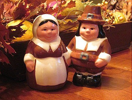 The Pilgrim Pair, Encore Edition, Animated Salt & Pepper Shakers Set From the Publix Television Commercial. Thanksgiving Pair of Collectable Characters - http://spicegrinder.biz/the-pilgrim-pair-encore-edition-animated-salt-pepper-shakers-set-from-the-publix-television-commercial-thanksgiving-pair-of-collectable-characters/