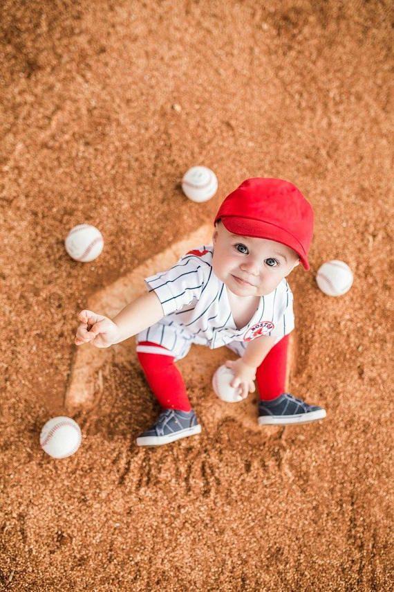 Boys Baseball Uniform Pinstripe Uniform Sportswear Baseball