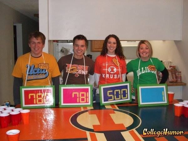 I know it's a few months away but this is a great #GameShow costume Bidders Row; Price is Right costume