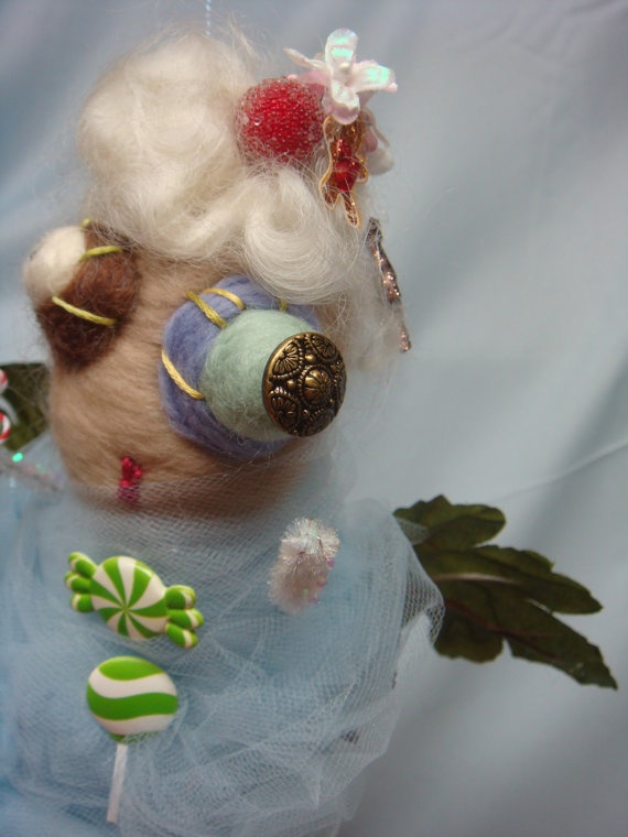Sugar Plum Faeries Have roosted for Christmas #holiday #plush